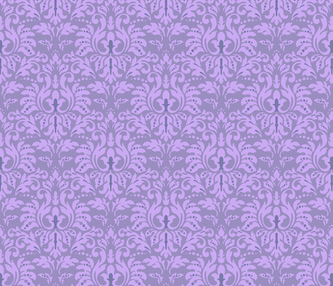 Lilac_Damask fabric by kelly_a on Spoonflower - custom fabric
