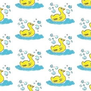 Swimming Duck n Bubbles