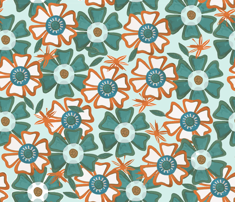 Floriade fabric by ttpie on Spoonflower - custom fabric