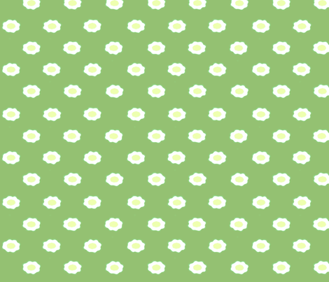 green egg flower  fabric by playbox_ on Spoonflower - custom fabric