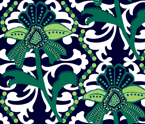 Beach Mod fabric by paragonstudios on Spoonflower - custom fabric