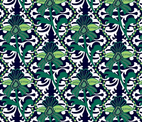 Beach Mod fabric by paragonstudios on Spoonflower - custom fabric