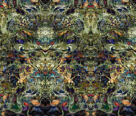 A Long Strange Trip fabric by whimzwhirled on Spoonflower - custom fabric