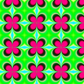 Fractal: Groovy Mod Flowers
