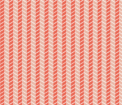 leaf_red fabric by lindsey_merritt on Spoonflower - custom fabric