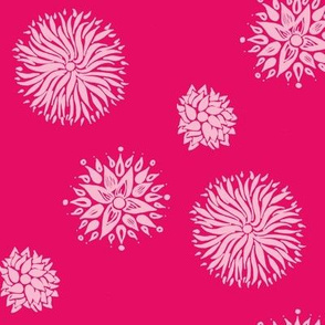flowerworks bright pink summer