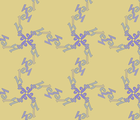 Ashley fabric by greenmyeyes on Spoonflower - custom fabric