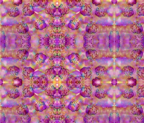Pink and Purple Explosion fabric by martaharvey on Spoonflower - custom fabric
