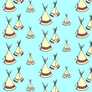 Teepee-Turquoise