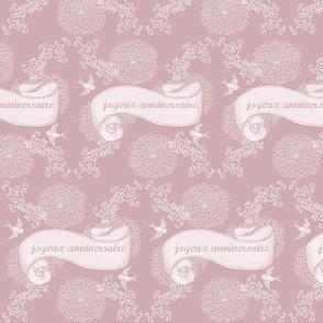 joyeux anniversaire pink