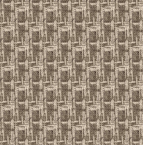 crosshatch - espresso and cream coordinate fabric by materialsgirl on Spoonflower - custom fabric