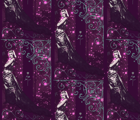 Aphodite - Graces the Night fabric by walkwithmagistudio on Spoonflower - custom fabric