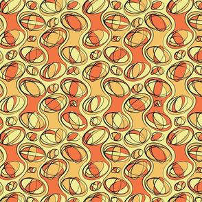 Retro-Geo Tangerine