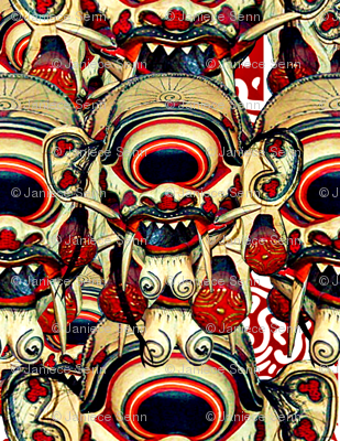 Balinese Mask #3
