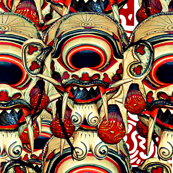 Balinese Mask #3
