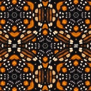 Monarch Butterfly Kaleidoscope