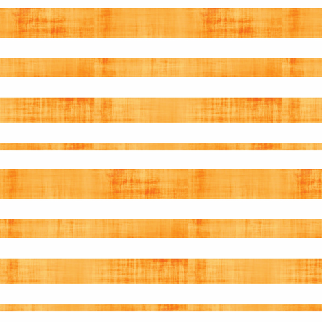 Weathered Stripes - Tangerine fabric by owlandchickadee on Spoonflower - custom fabric