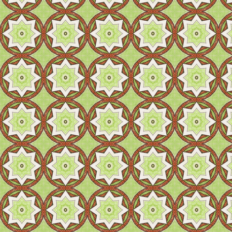 Celeriac Stars fabric by siya on Spoonflower - custom fabric