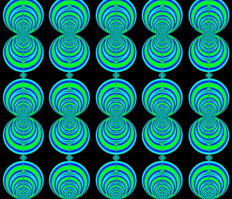 Fractal: Groovy Neon Love  Beads fabric by artist4god on Spoonflower - custom fabric