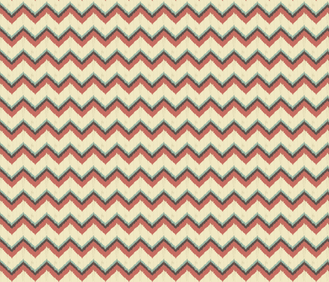 Nature_Chevron fabric by ©_lana_gordon_rast_ on Spoonflower - custom fabric