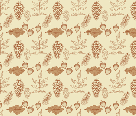 Nature_2 fabric by ©_lana_gordon_rast_ on Spoonflower - custom fabric