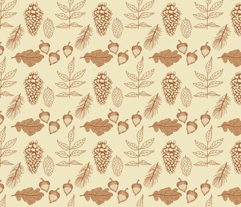 Nature_2 fabric by lana_gordon_rast_ on Spoonflower - custom fabric