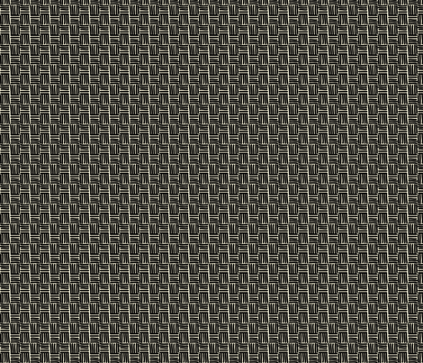 Hannah_La_Chance_Basket_weave fabric by ©_lana_gordon_rast_ on Spoonflower - custom fabric