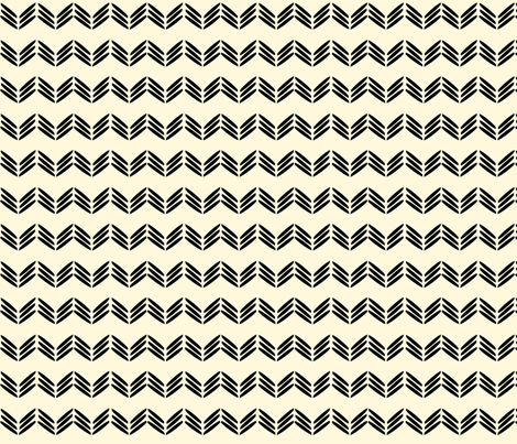 Hannah_La_Chance_chevron fabric by ©_lana_gordon_rast_ on Spoonflower - custom fabric