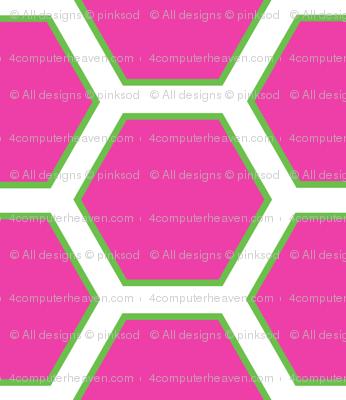 Honeycomb Sweet! - Summertime Fun! - Watermelon - © PinkSodaPop 4ComputerHeaven.com