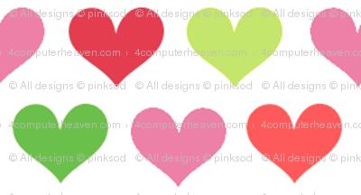 Sweet Hearts! - Summertime Fun! - Watermelon - © PinkSodaPop 4ComputerHeaven.com