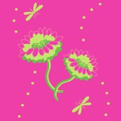 Rrwatermelonsummerfancypinkandgreensdragonfliesbypinksodapop_shop_thumb