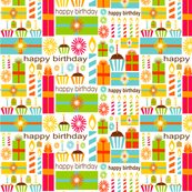 Bold &amp; Bright Birthday