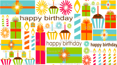 Bold & Bright Birthday
