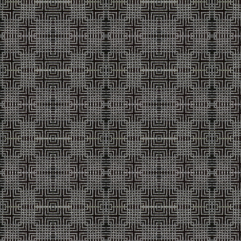 beaded lantern - black & white fabric by materialsgirl on Spoonflower - custom fabric