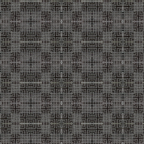double check 2 - black and white fabric by materialsgirl on Spoonflower - custom fabric