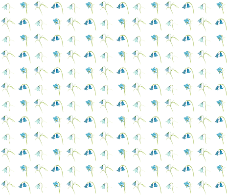 Bluebells fabric by de-ann_black on Spoonflower - custom fabric