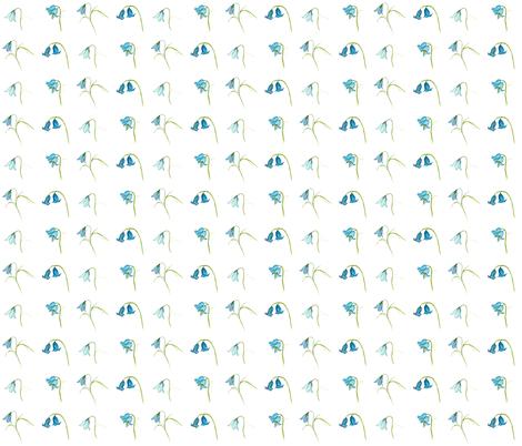 Bluebells fabric by de-ann_black on Spoonflower - custom fabric