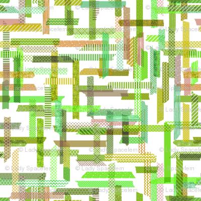 Washi tape green