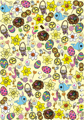 Yellow Easter Megamix