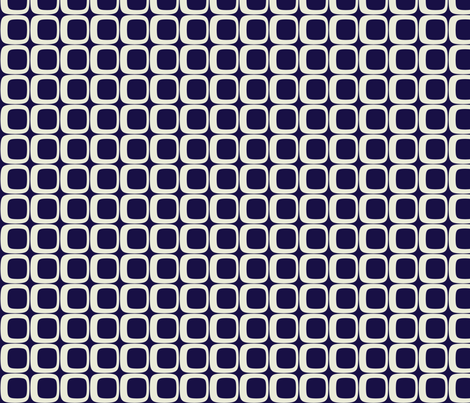 Squares_Navy fabric by brandi_ on Spoonflower - custom fabric