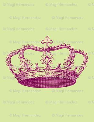 Magenta Crown