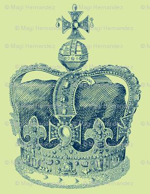 True Blue Crown