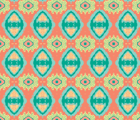 Sweet Potato Surprise fabric by susaninparis on Spoonflower - custom fabric