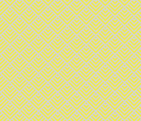 Yellow shingles fabric by mezzime on Spoonflower - custom fabric