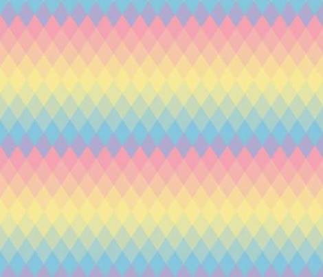Parallelogram rainbow fabric by mezzime on Spoonflower - custom fabric