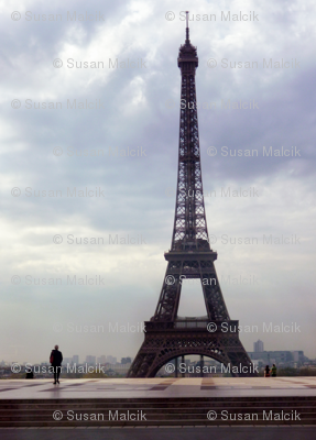 Eiffel Tower before Rain