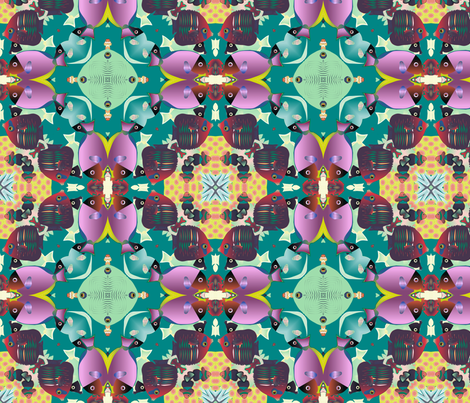 coral reef 2 fabric by kociara on Spoonflower - custom fabric
