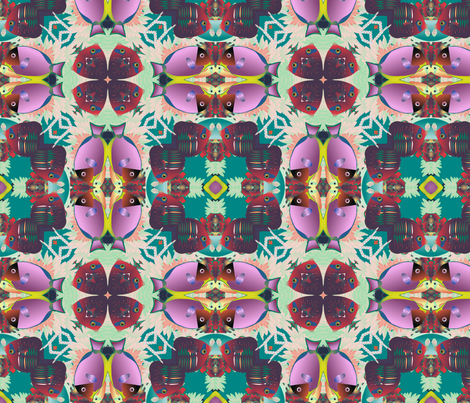 coral reef 3 fabric by kociara on Spoonflower - custom fabric