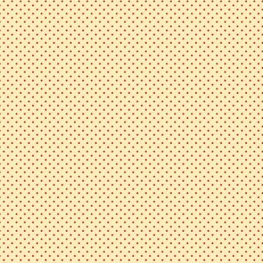Cream_&_Apple-Red_Pin_Dots