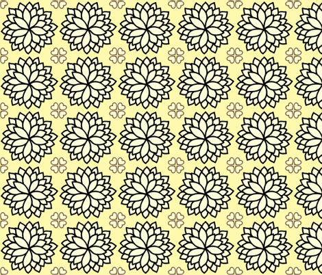 DaHappy Damask fabric by marchhare on Spoonflower - custom fabric